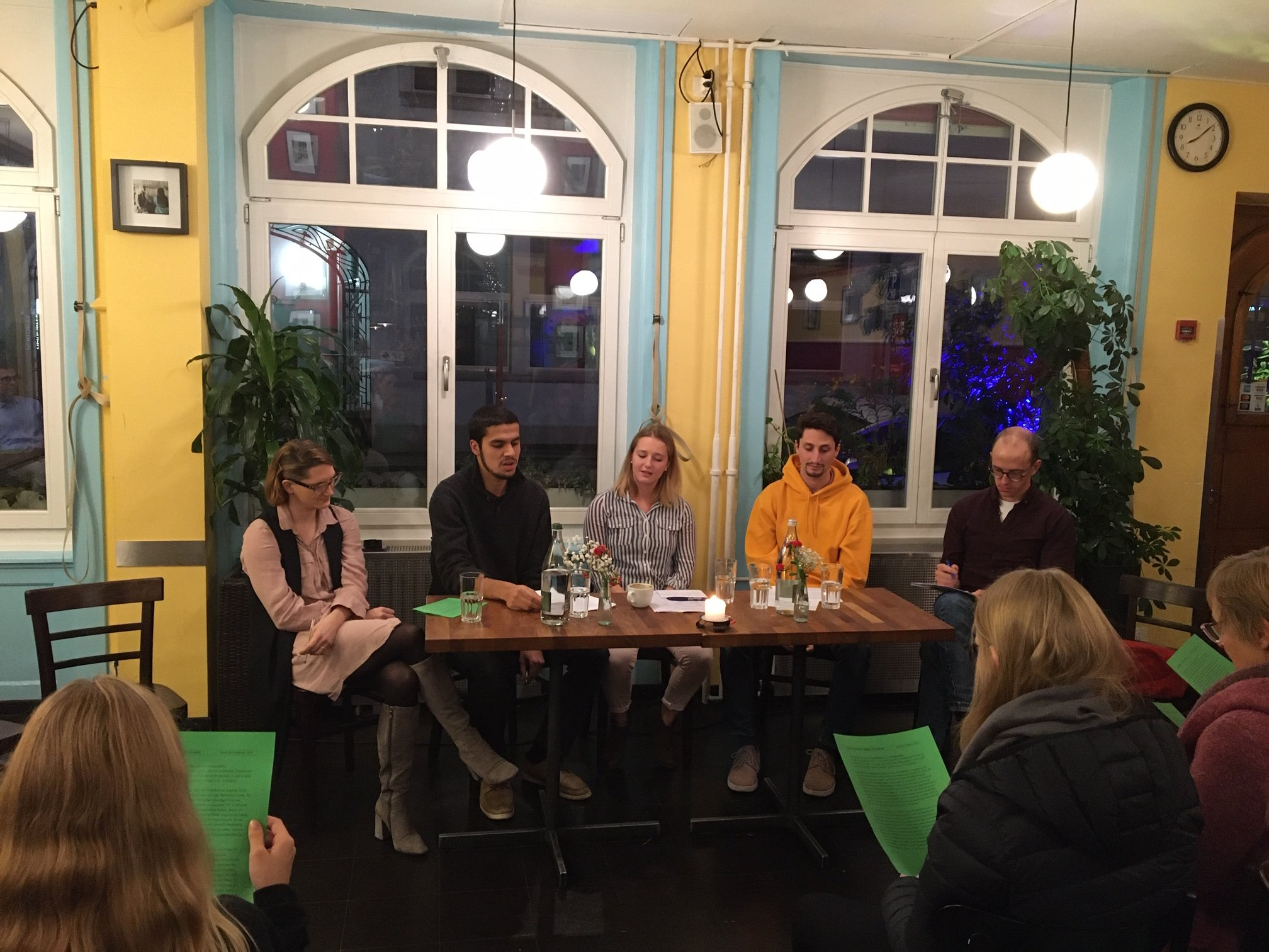 Night of Religions  -  Coworking with Reformierter Forum Bern